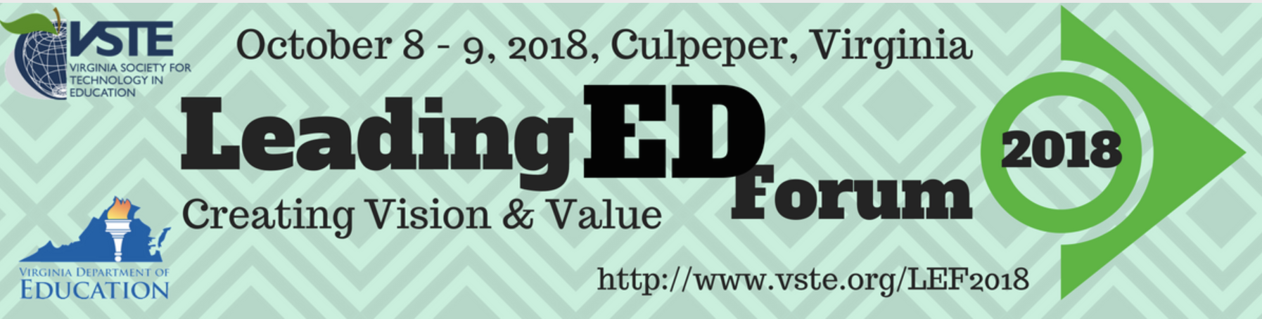 VSTE Leading Ed Forum 2018