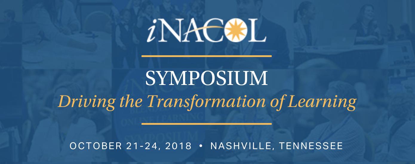 iNACOL Symposium 2018